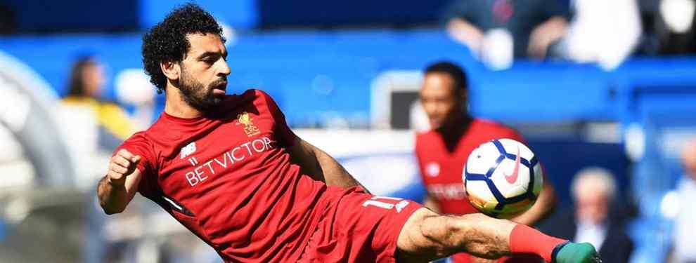 Salah es uno de los objetivos del Real Madrid para la próxima temporada. El egipcio ha llegado a un acuerdo con el Liverpool para su salida del conjunto inglés.