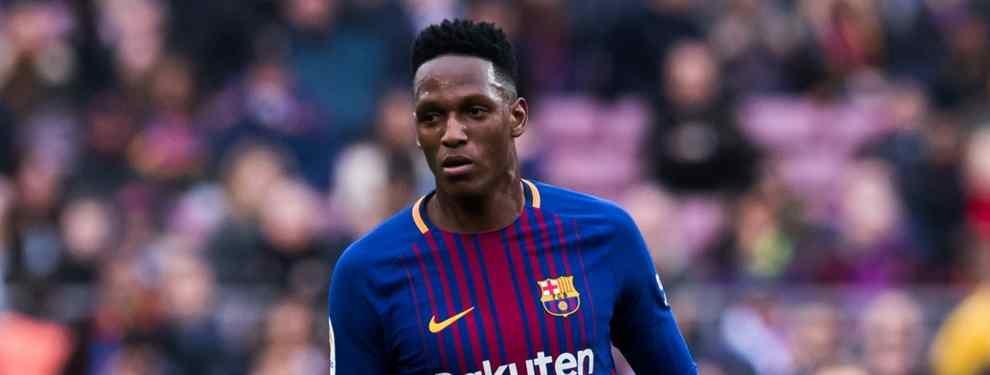 Yerry Mina puede entrar en un cambio de cromos de cara a la próxima temporada para marcharse a otro club y que el Barça se lleve a un crack que lleva tiempo siguiendo.