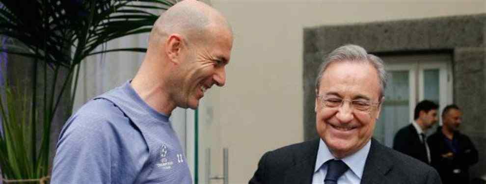 Florentino Pérez tiene un as en la manga para su revolución galáctica (y Zidane da luz verde)