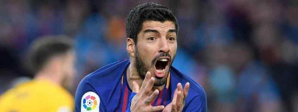 Lío con Luis Suarez: la oferta que lo saca del Barça (y la respuesta de Messi)