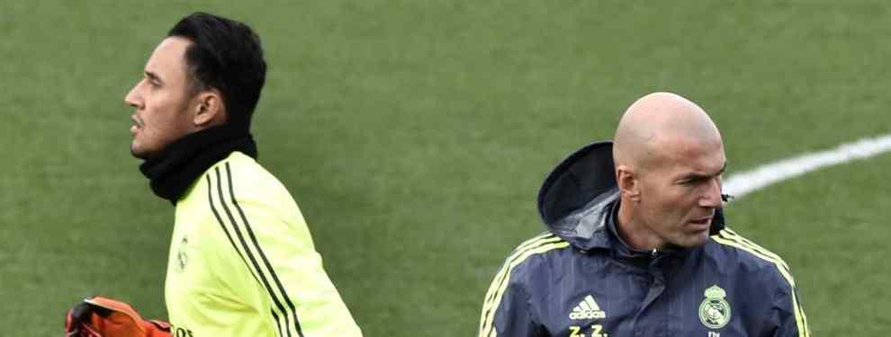 Zidane elige el nuevo portero del Real Madrid para la temporada 2018/19 (y Keylor Navas reacciona)