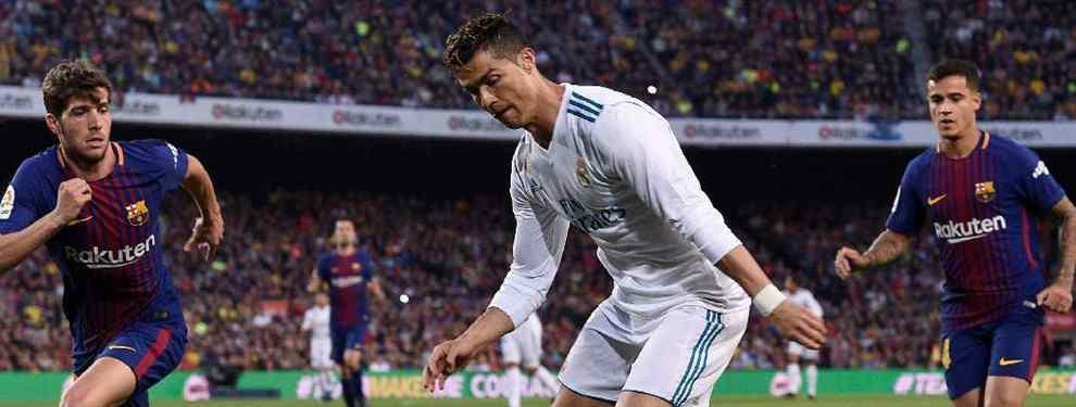 Cristiano Ronaldo recibe el chivatazo: el primer fichaje del Barça para la 2018/19 ya está cerrado