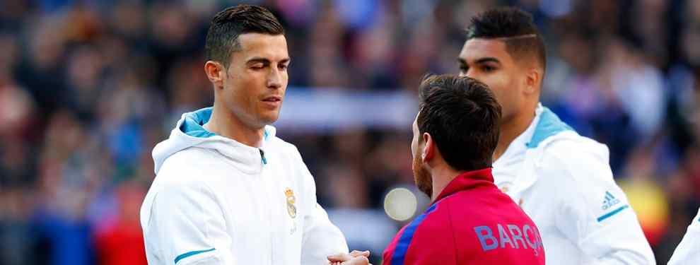Cristiano Ronaldo alucina: ojo con Messi (y la respuesta más bestia)