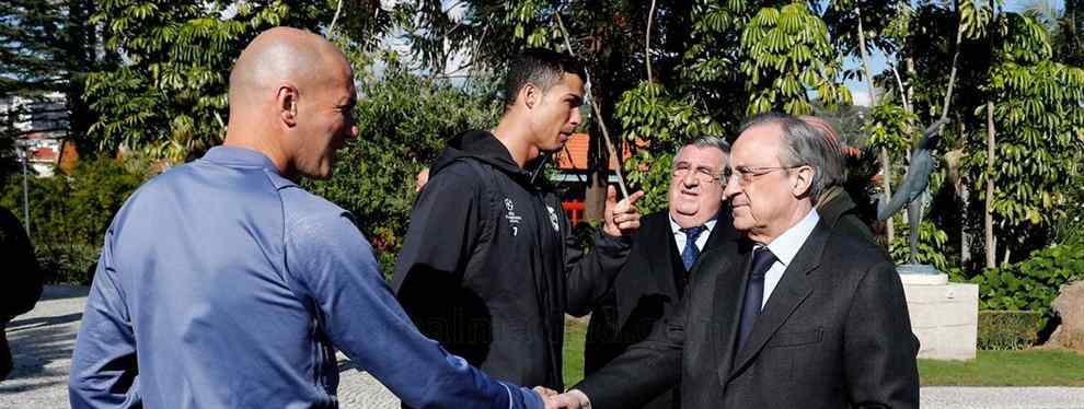 Florentino Pérez le echa el freno a Zidane: el fichaje que revienta (y el que quiere para el Madrid)