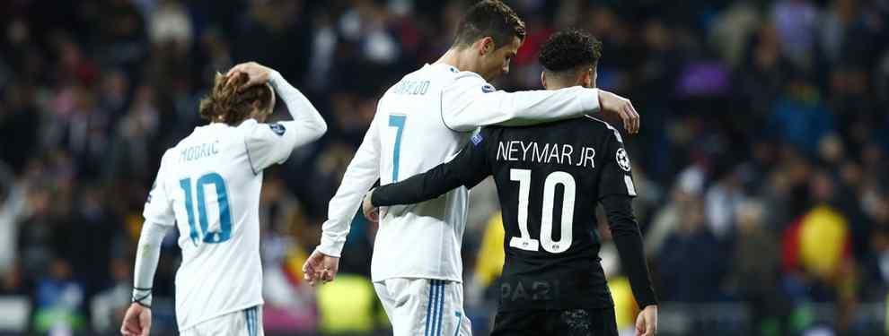 ¡Fichado! Florentino Pérez ata un galáctico para traer a Neymar al Real Madrid