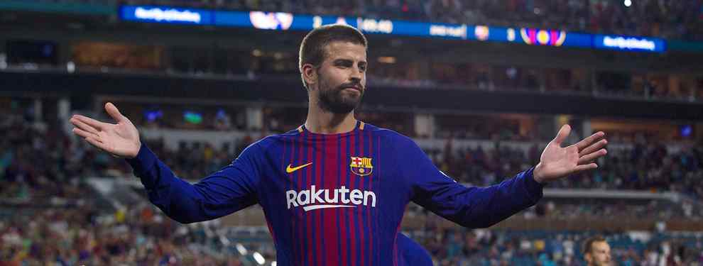Uno de los pesos pesados del Barça tiene ofertas para salir del conjunto azulgrana este verano. Gerard Piqué advierte a la cúpula del club de una posible fuga.