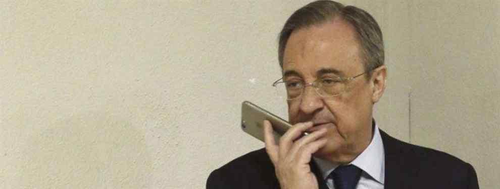 El fichaje que Florentino Pérez tiene preparado por si el Real Madrid pierde ante el Liverpool