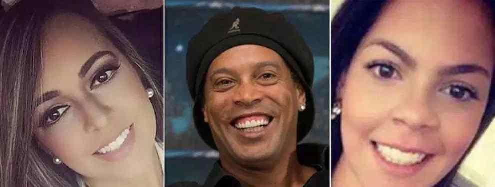¿Ronaldinho se casa o no con sus dos novias?