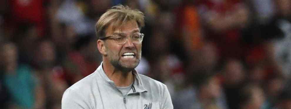 El entrenador alemán supo al final del encuentro que un jugador que llevaba semana tanteando no iba a poder ficharlo. Otra noticia dolorosa para un Klopp que tiene mucho trabajo por delante de cara a la temporada próxima.
