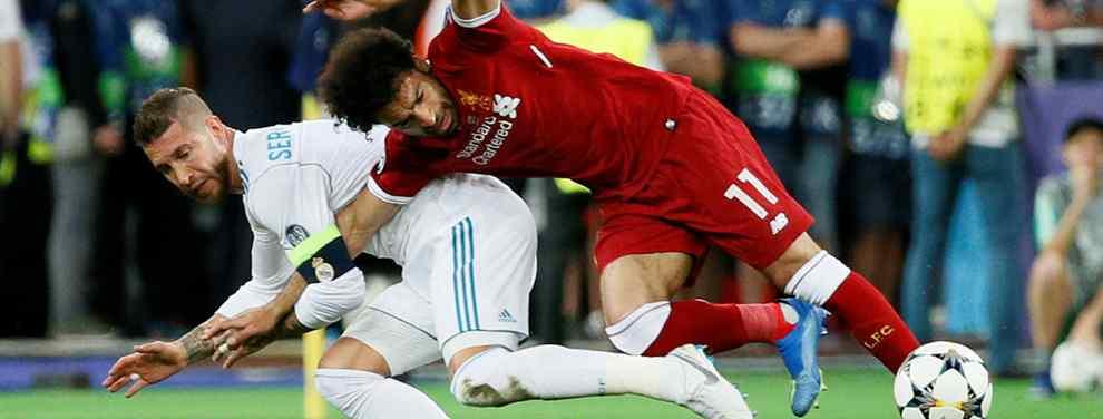 Salah estalla: la que se acaba de montar con Sergio Ramos