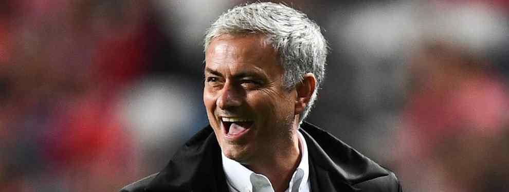 A José Mourinho, el técnico del Manchester United, se le ha metido entre ceja y ceja arrebatarle a Florentino Pérez un jugador a quien tiene en una altísima consideración