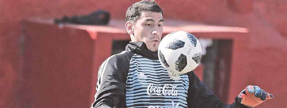 Nahuel Guzmán quiere ser el nuevo arquero de Boca