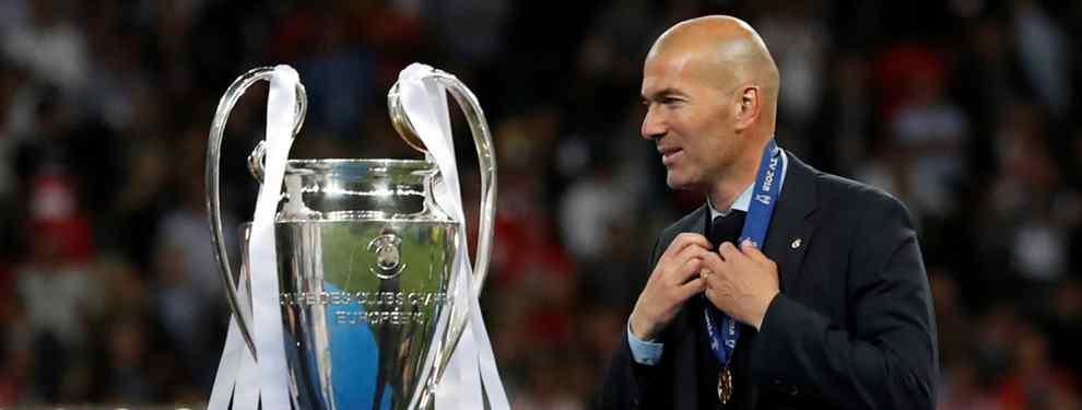 Sorpresa mayúscula en el Real Madrid. Zinedine Zidane ha anunciado este jueves por sorpresa que se va del Real Madrid, y Florentino Pérez ya tiene atado a su relevo.