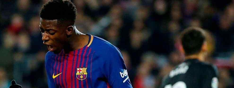 Un destacado club del viejo continente se está moviendo para llevarse al francés Ousmane Dembélé del Barça este verano (y no se trata ni del Liverpool ni del PSG)