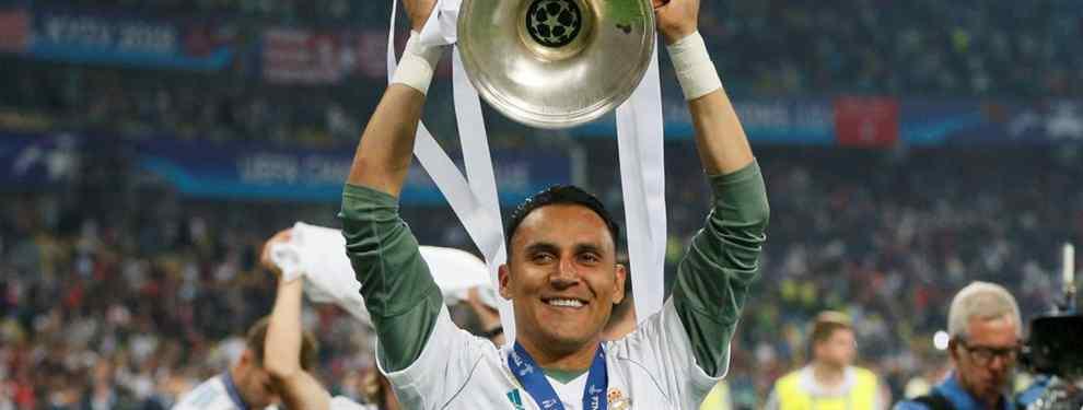 Keylor Navas está en peligro en el Real Madrid. Un portero de primer nivel mundial se ofrece al conjunto blanco y podría llegar si Florentino Pérez da el visto bueno.