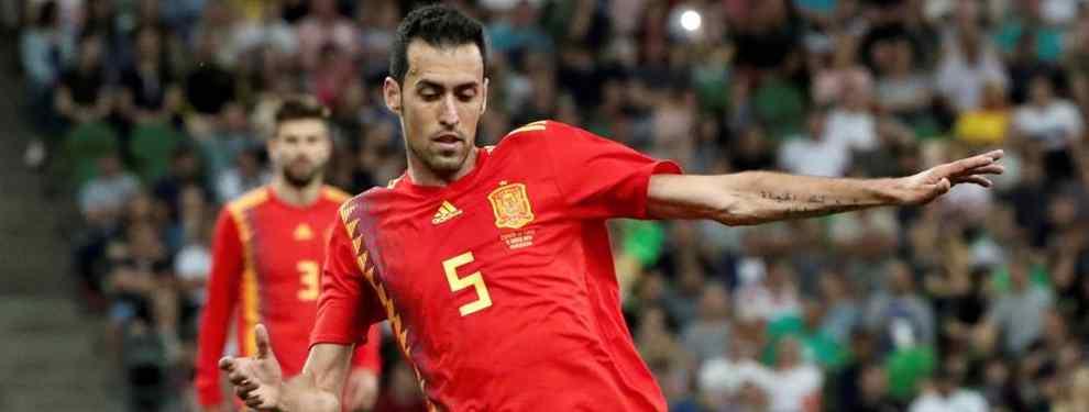Sergio Busquets filtra una salida sonada del Barça: 60 millones de euros y está fuera