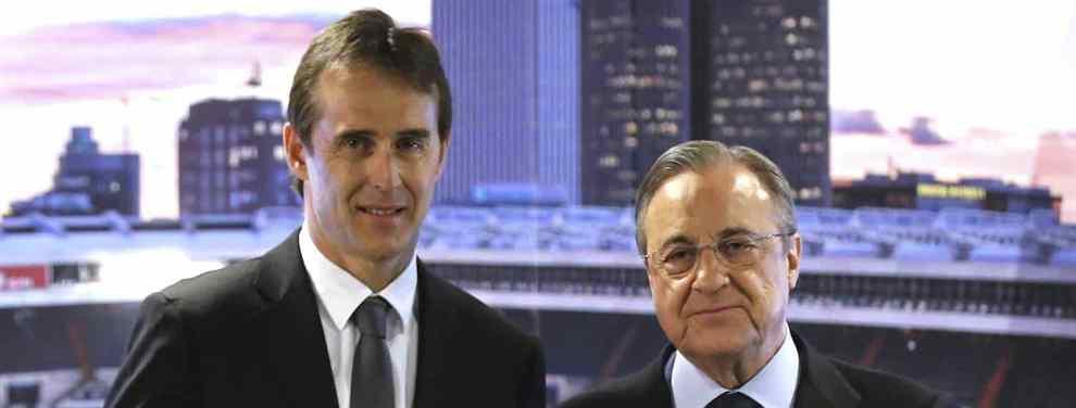 Julen Lopetegui tiene el dibujo del nuevo Real Madrid definido y así se lo ha hecho saber a un Florentino Pérez que ya tiene un primer encargo: pagar la cláusula de 40 millones de Álvaro Odriozola.