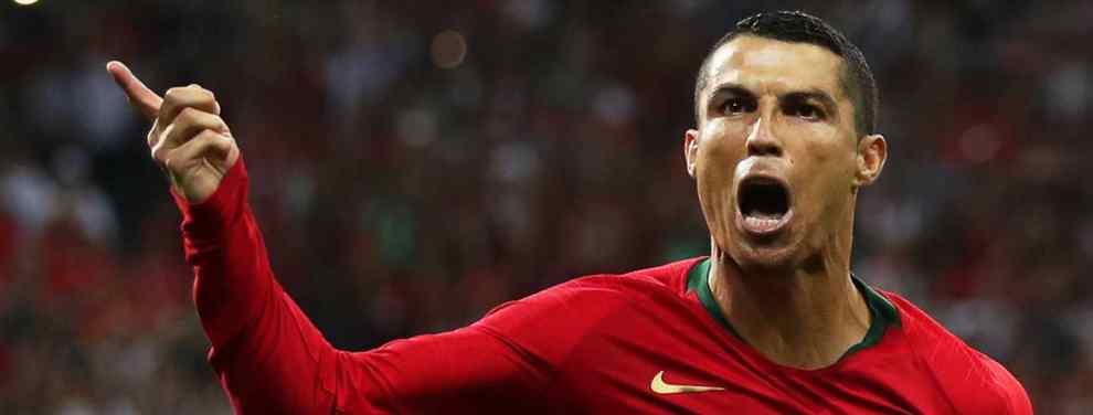 Cristiano Ronaldo pasa al ataque. CR7 lleva un mosqueo terrible con Florentino Pérez y el Real Madrid tras enterarse que hasta Griezmann cobrará más que él tras renovar con el Atlético su contrato.