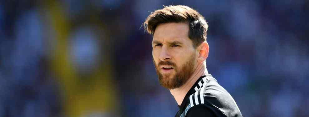El gran crack del Barça, el argentino Leo Messi, se ha quedado de piedra al enterarse de qué jugador le está pidiendo Ernesto Valverde a la directiva de Josep Maria Bartomeu