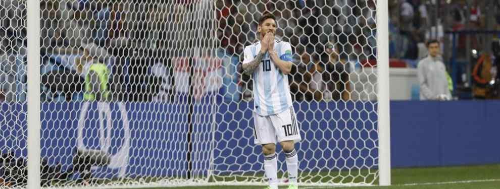 La albiceleste queda contra las cuerdas en el Mundial tras caer por 0-3 ante Croacia en otro horrible partido. Necesita un milagro para meterse en octavos de final. El 10 argentino, invisible.