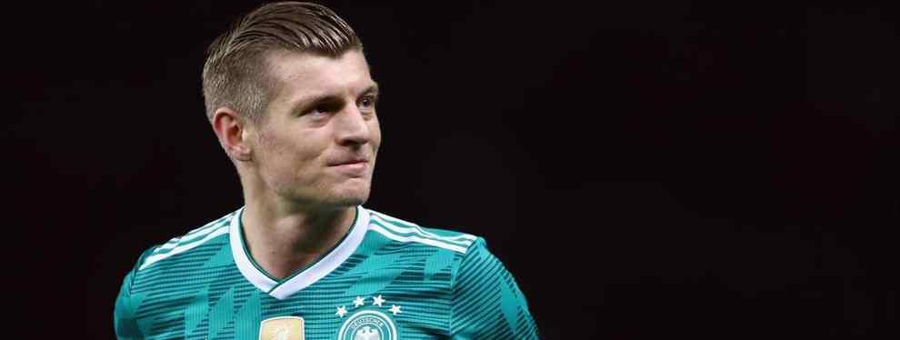 Toni Kroos salva a Alemania y le dice a un jugador que lo quiere en el Real Madrid