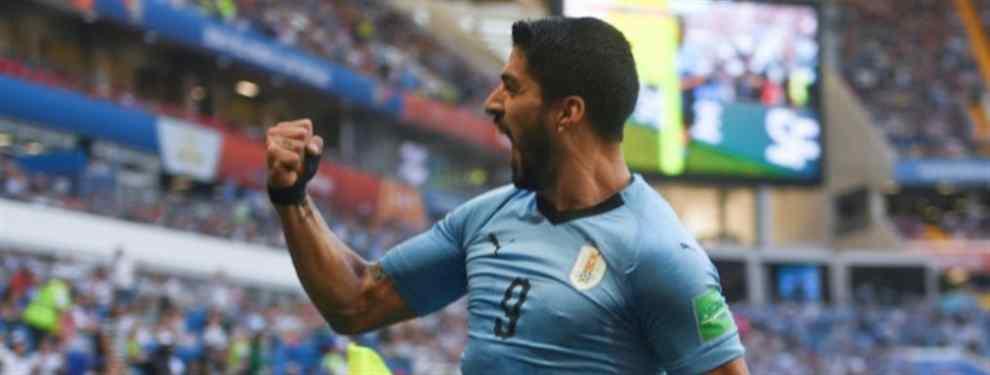 El delantero del Barça Luis Suárez, autor de uno de los goles con los que la selección de Uruguay derrotó a Rusia, desveló un mensaje bestial del argentino Leo Messi