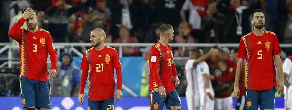 España dejó muchas dudas en el partido ante Marruecos. Fernando Hierro va a realizar varios cambios respecto al partido ante Rusia, sacando a tres cracks del once.