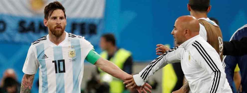 El lío de Messi y Sampaoli en Argentina (el drama que sentencia a un crack)