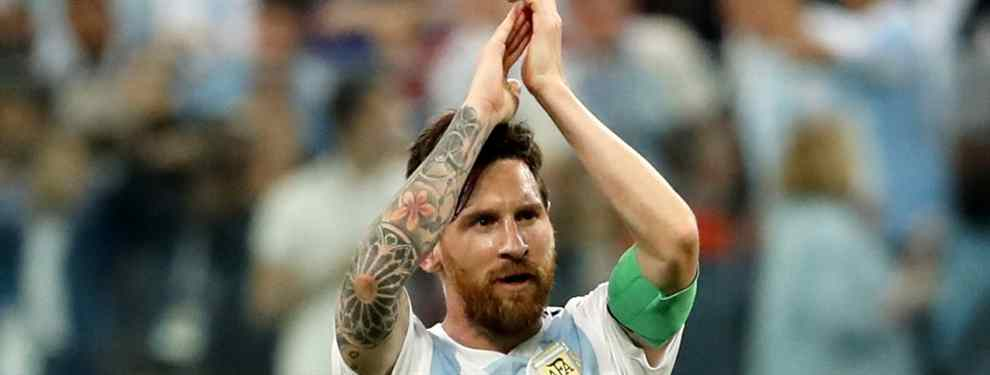 Messi lo quiere en el Barça: el crack de Argentina que pide el '10' (y la estrella a la que echa)