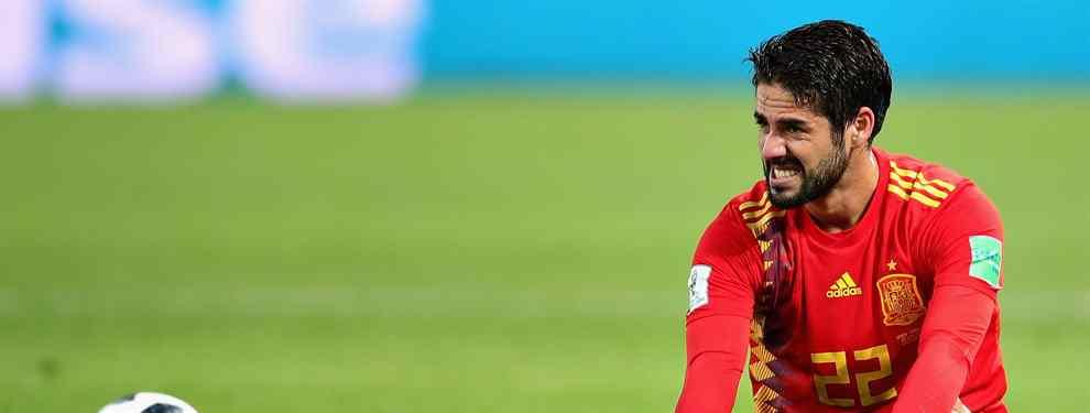 La participación de Marco Asensio en el Mundial de Rusia con la Roja está siendo de chiste. Fernando Hierro apenas cuenta con el balear, y lo que es peor: la cosa con Lopetegui no habría mejorado.