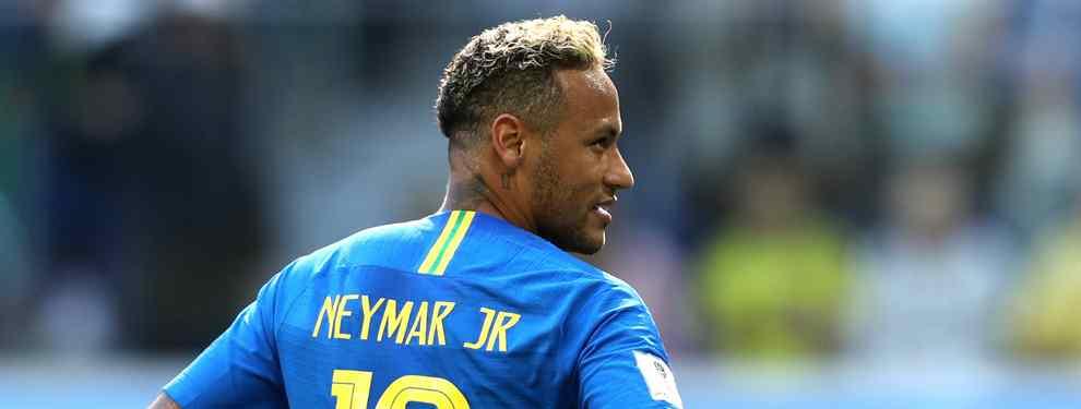 Neymar paraliza una operación en el Real Madrid. El brasileño frena un fichaje sonado de Florentino Pérez para el conjunto blanco. Una llamada que lo cambia todo.
