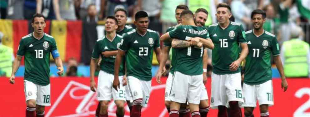 Simeone quiere llevarse al Atlético de Madrid a uno de los jugadores más destacados de una selección de México que se mete en octavos del Mundial pese a perder ante Suecia por 0-3