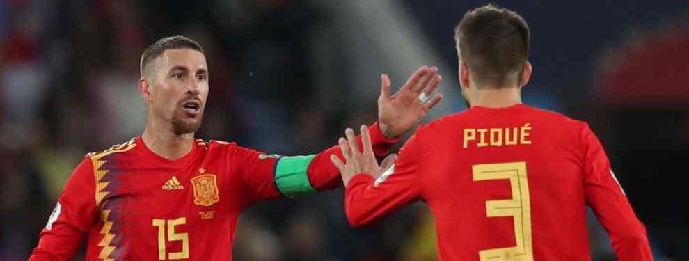 Sergio Ramos avisa: la sorpresa que prepara Hierro ante Rusia (se carga a un crack del Real Madrid)