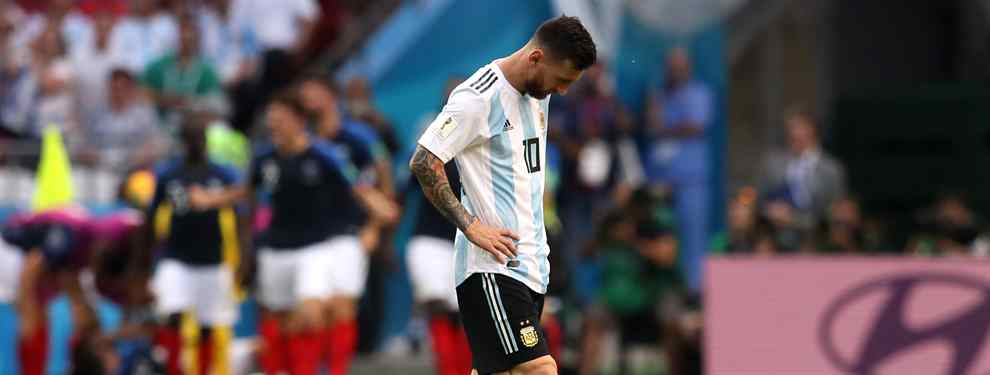 Messi alarga su drama y lo peor está por llegar: el ridículo de Argentina llega hasta el Barça