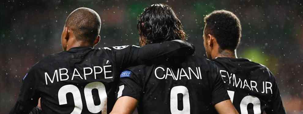 Parece que el Paris Saint Germain tiene un plan para competir por la Champions League la temporada próxima y mantener en el equipo a sus tres grandes estrellas: Neymar, Edinson Cavani y Kylian Mbappé.