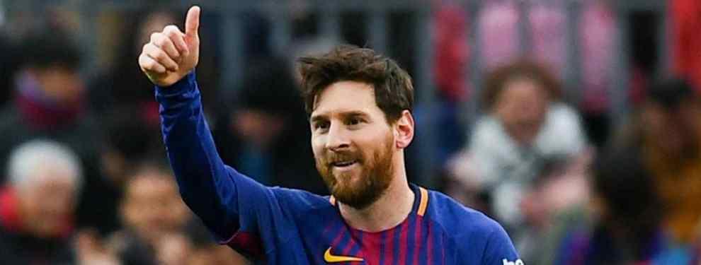 El jugador que el Barça quiere fichar y que pone en peligro el estilo (Messi lo aprueba)
