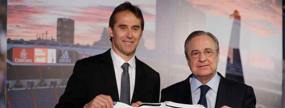 Julen Lopetegui le ha lanzado un mensaje terriblemente contundente al presidente del Real Madrid, Florentino Pérez: el club debe ir a por un jugador muy concreto