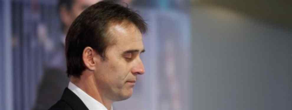 Uno de los futbolistas del Real Madrid no está para nada contento con el panorama que se le presenta ahora bajo las órdenes del nuevo técnico madridista, Julen Lopetegui