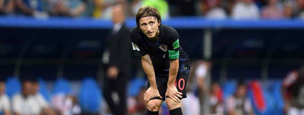 Luka Modric consiguió la clasificación para las semifinales del Mundial. Pero la noticia está en la oferta que tiene sobre la mesa el jugador del Real Madrid para salir del club blanco.