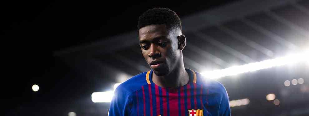 Mourinho ofrece un crack del Manchester United al Barça por Ousmane Dembelé