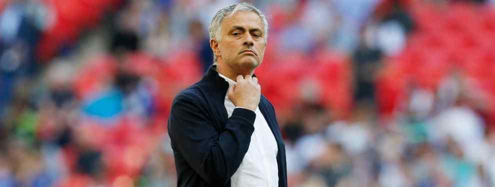 José Mourinho quiere dar un paso al frente y atar aun crack para el Manchester United. Una operación que dejaría muy tocado a Florentino Pérez y al Real Madrid.