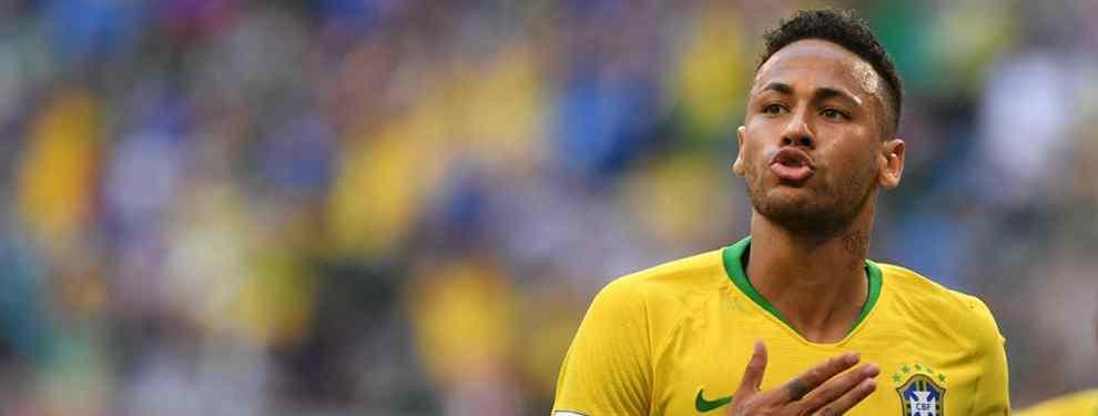 Neymar acerca un fichaje galáctico al Barça de Messi