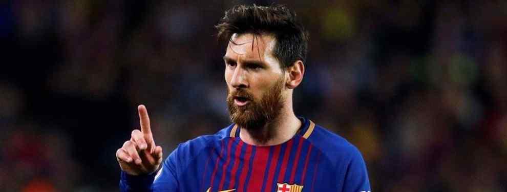 Más dinero o se va: Messi tiene un problema en el Barça (y es una fuga inesperada)