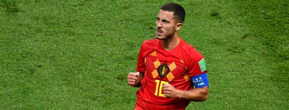 El Chelsea exige a este crack del Real Madrid para vender a Hazard