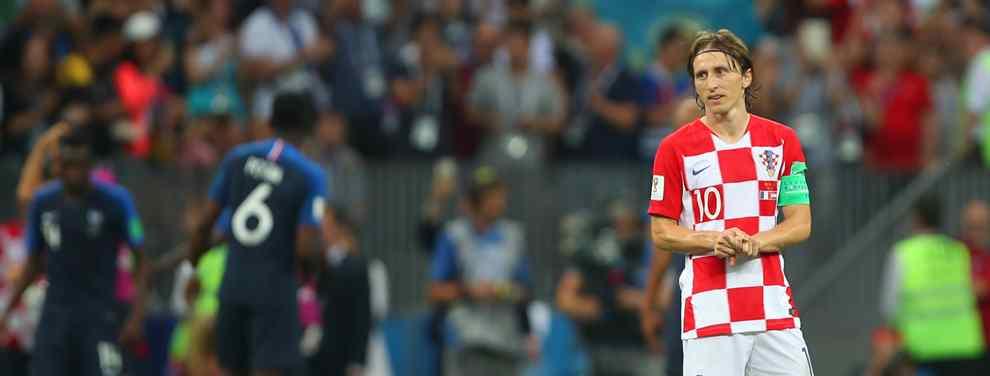 Luka Modric confiesa ante Ivan Rakitic que hay un jugador de la selección croata en la agenda de Florentino Pérez para reforzar el Real Madrid la próxima temporada.