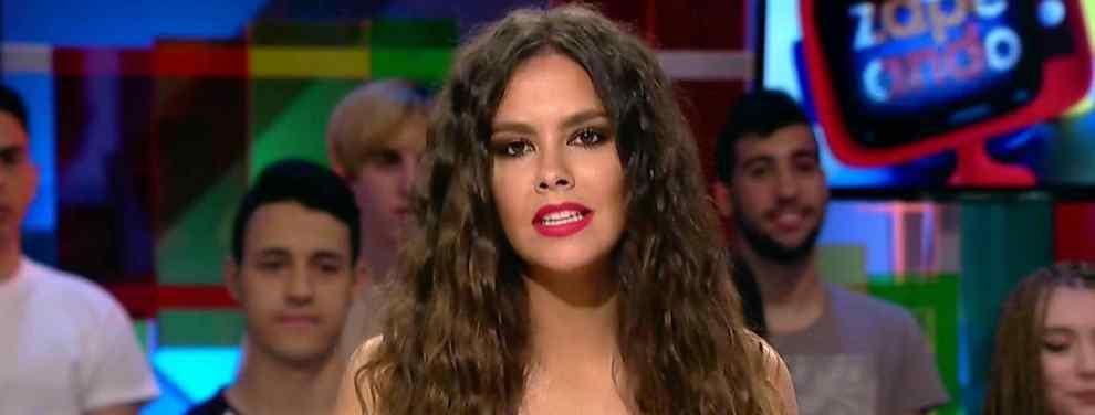 """El escote de Cristina Pedroche que desata la guerra en Instagram: """"buscona"""", """"guarra"""" y más..."""