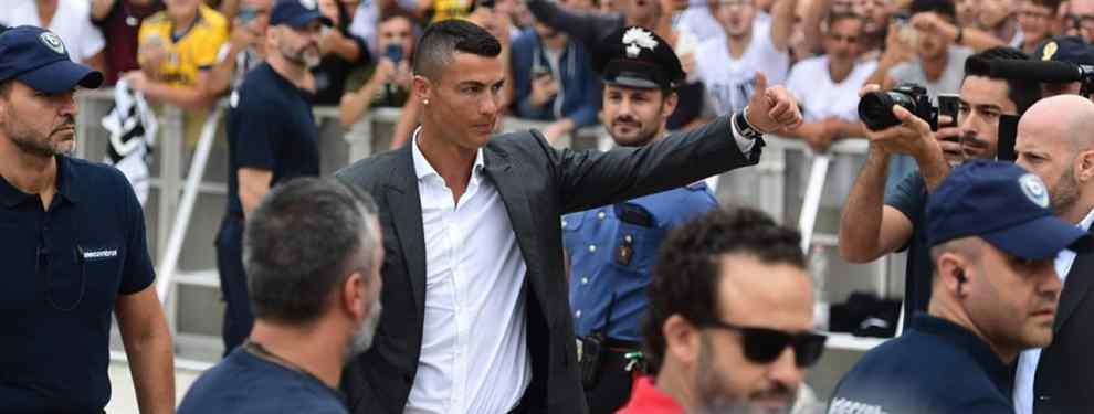 Cristiano Ronaldo dispara a una estrella de la Juve para colar a una figura del Real Madrid