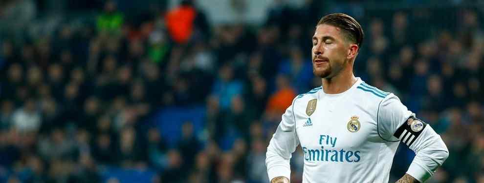 Sergio Ramos no lo quiere en el Real Madrid (y se lo dice a Florentino Pérez)