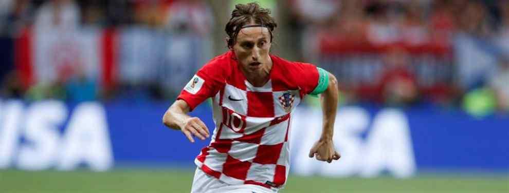 Alerta roja: la oferta que saca a Luka Modric del Real Madrid (y va muy en serio)