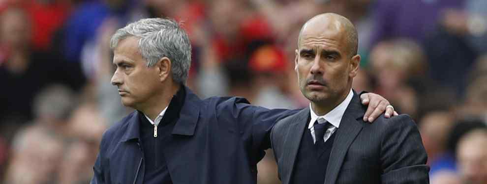 Pep Guardiola está al tanto. El Manchester United de Mourinho está acelerando en las últimas horas las conversaciones con uno de los grandes deseados en el Real Madrid del técnico del City.